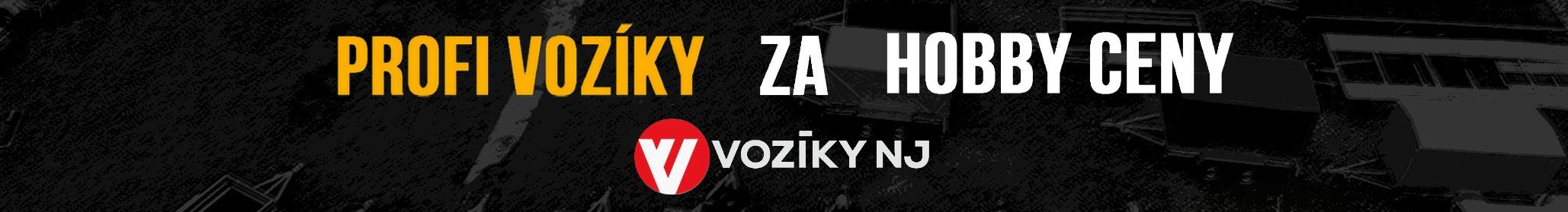 Profi vozíky za hobby ceny: Vozíky NJ.cz