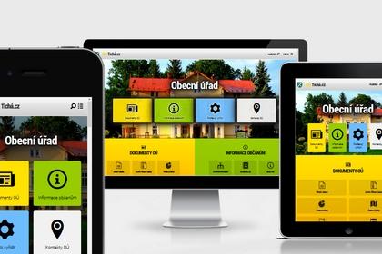 Revoluční řešení webové aplikace pro obecní úřady